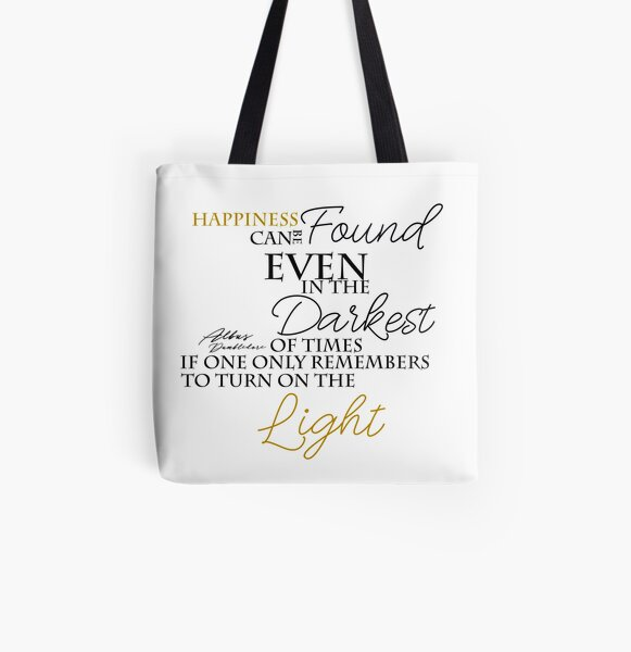HAPPINESS CAN BE FOUND All Over Print Tote Bag