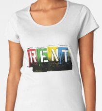 Rent Logo Color Women's Premium T-Shirt