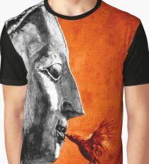 BUDDHA KISS - orange Graphic T-Shirt