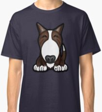 Brown Patch English Bull Terrier Classic T-Shirt