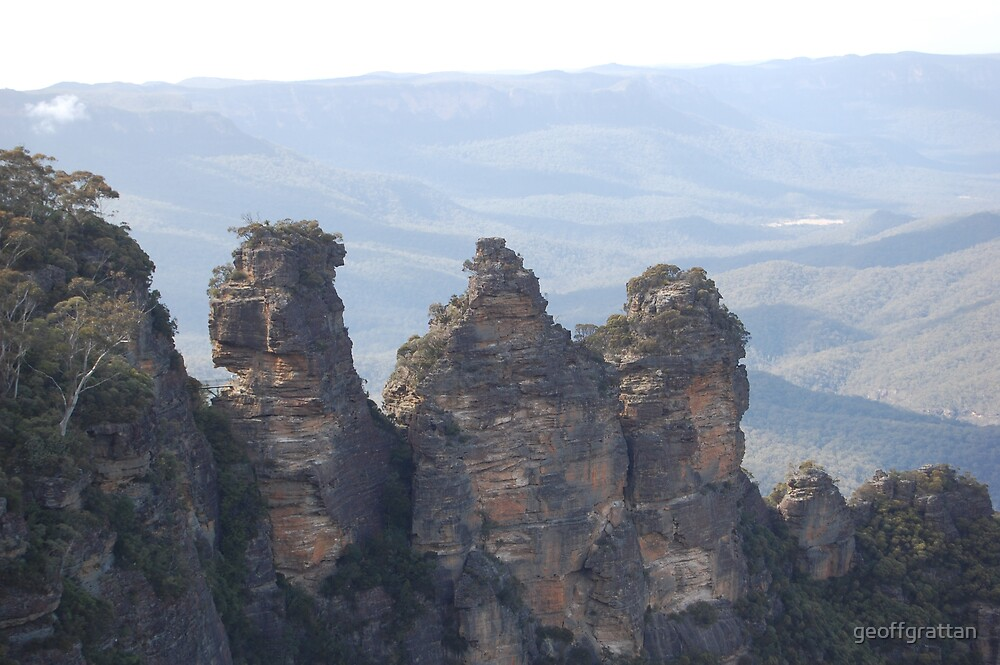 three sisters katoomba nsw by geoffgrattan