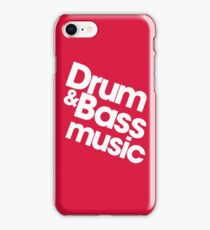 Drum & Bass iPhone Case/Skin