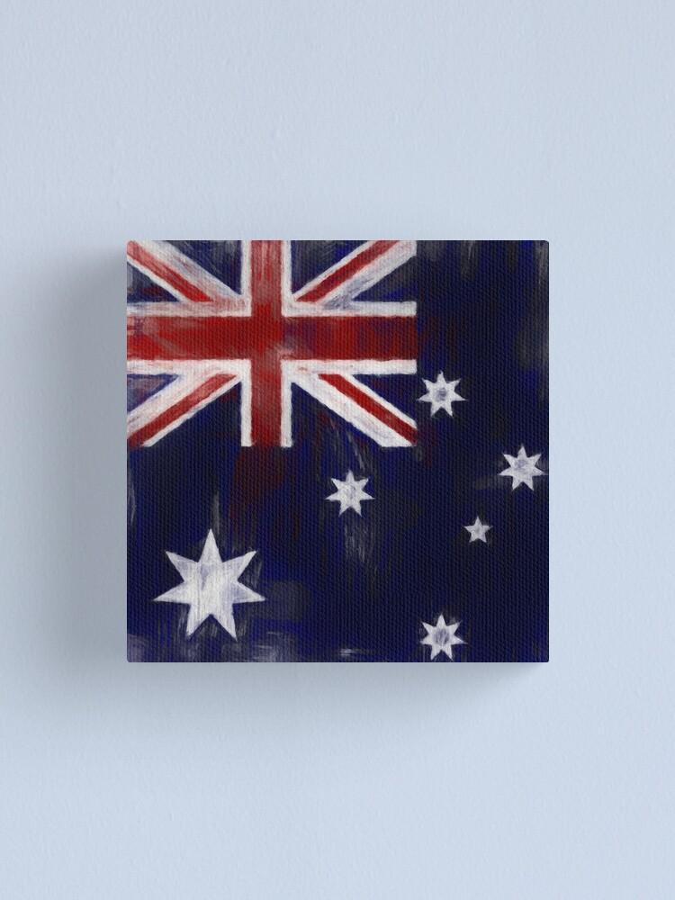 Alternate view of Australia Flag No. 1, Series 2 Canvas Print