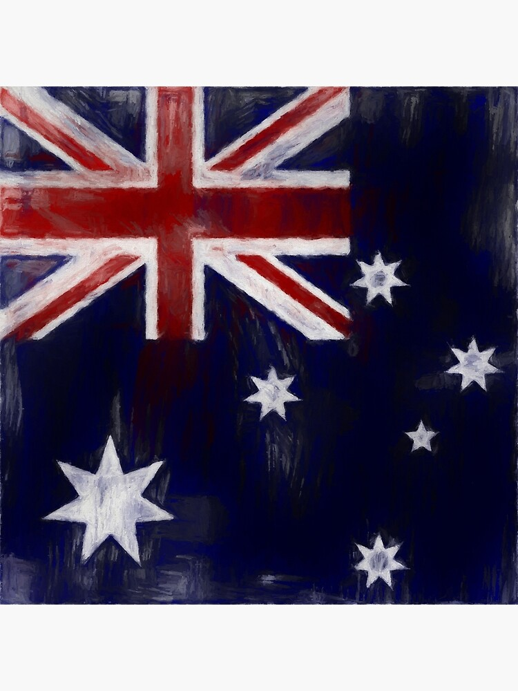Australia Flag No. 1, Series 2 by 8th-and-f