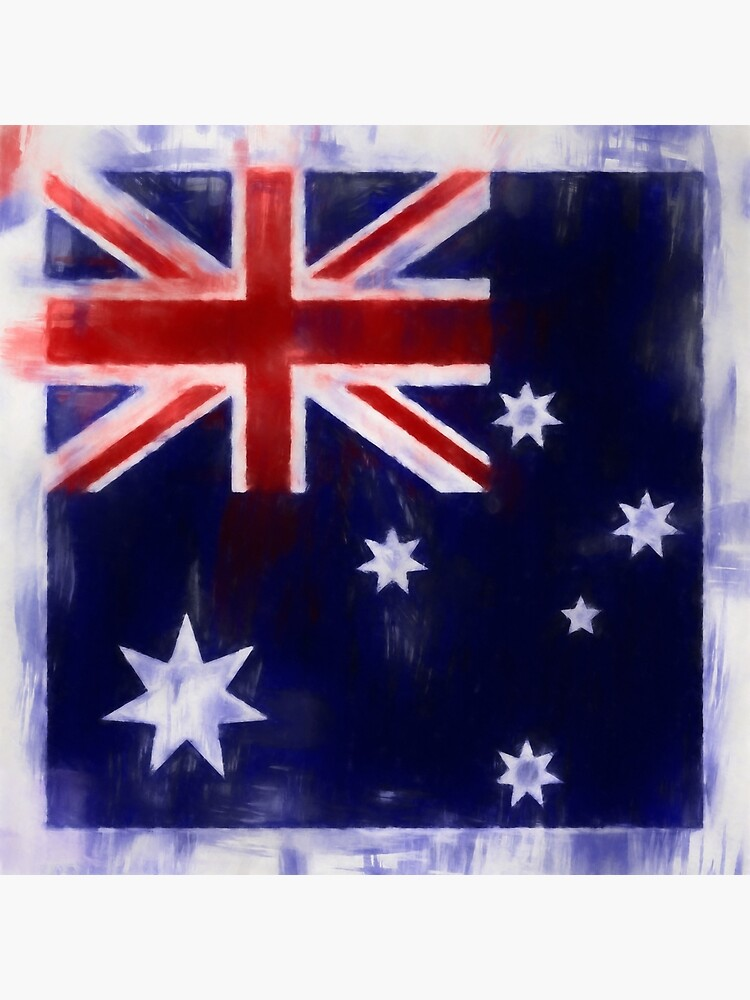 Australia Flag Reworked No. 2, Series 1 by 8th-and-f
