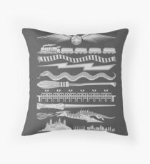 Wizard Whimsy Throw Pillow