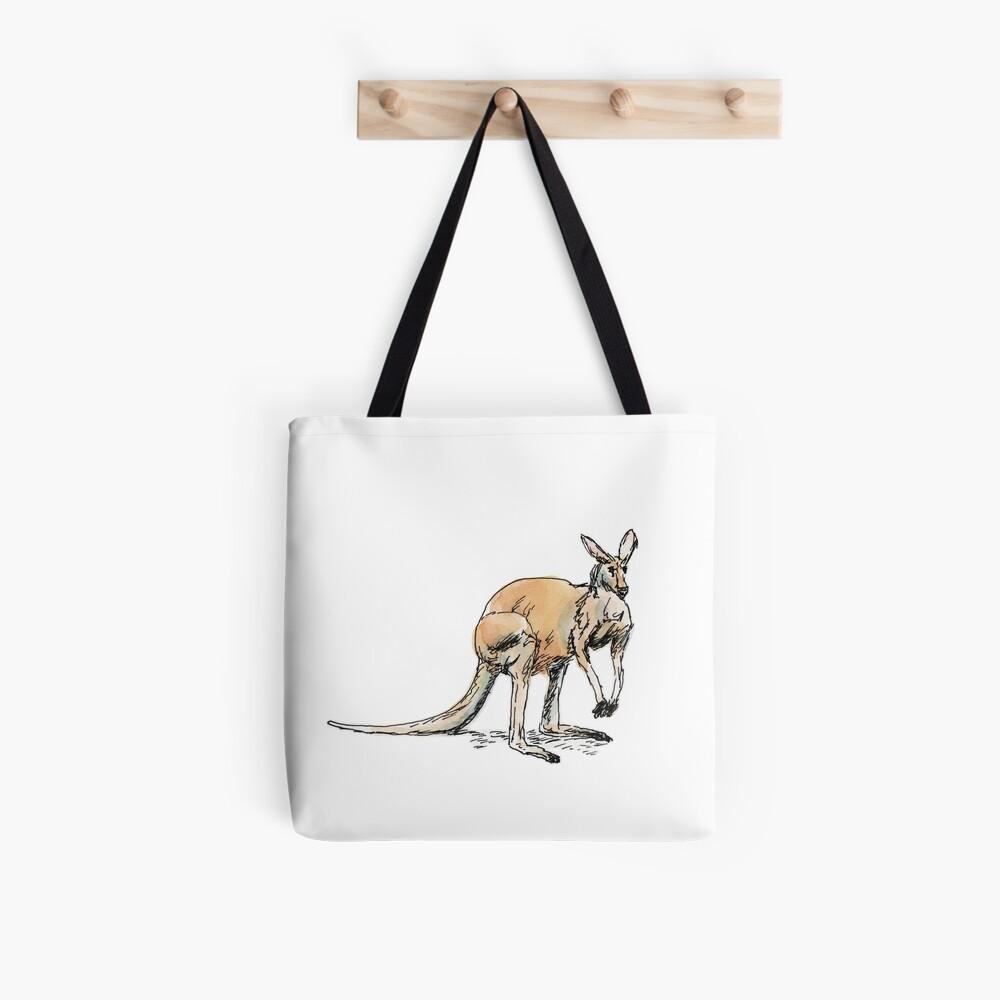 Kangaroo-in-waiting Tote Bag