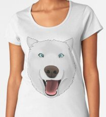 Crazy Husky Women's Premium T-Shirt