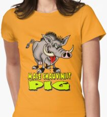 PIG Women's Fitted T-Shirt