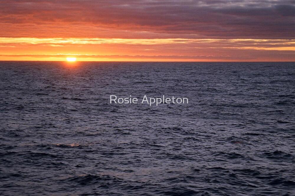 Drake Passage sunset by Rosie Appleton