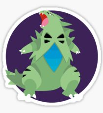 Tyranitar - 2nd Gen Sticker
