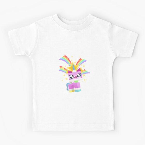 Princess Unikitty YAY! Kids T-Shirt