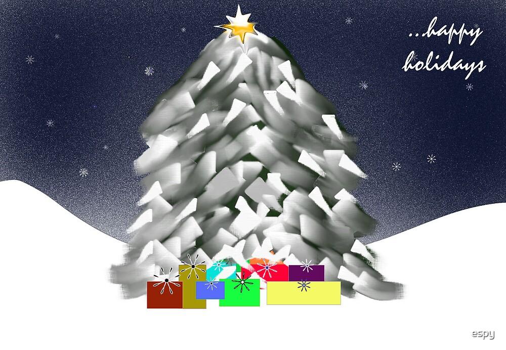 Christmas Tree by espy