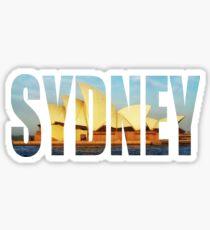 Sydney Opera House Photo Logo  Sticker