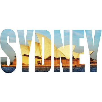 Sydney Opera House Photo Logo  by cutehuur