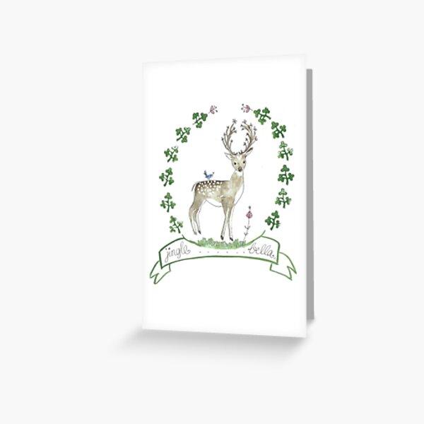 Jingle Bella Greeting Card