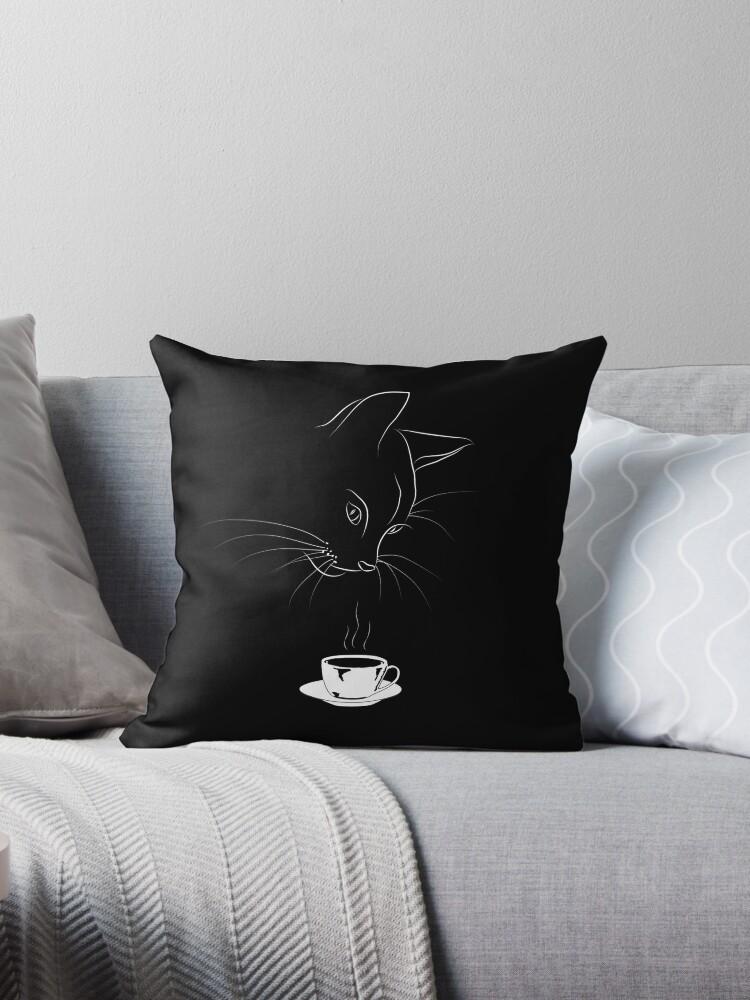 Coffee Cat by Dan Tabata