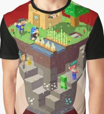 Minecraft Graphic T-Shirt