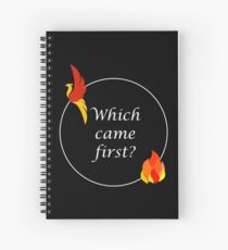 Phoenix or the Flame Spiral Notebook