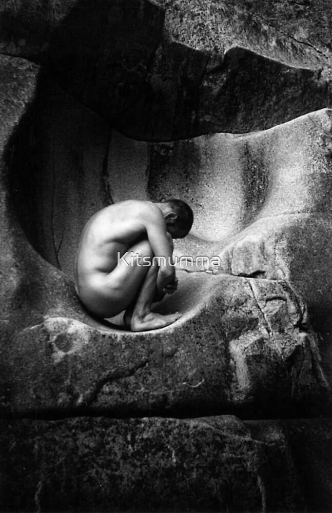 In Utero (Black and White) by Kitsmumma