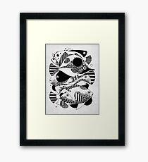 Glub Glub Framed Print