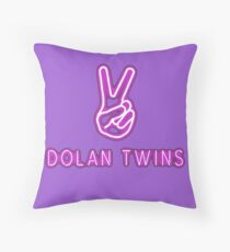 Ethan Dolan, 2017 Tour, Touring, Dolan Twins Throw Pillow