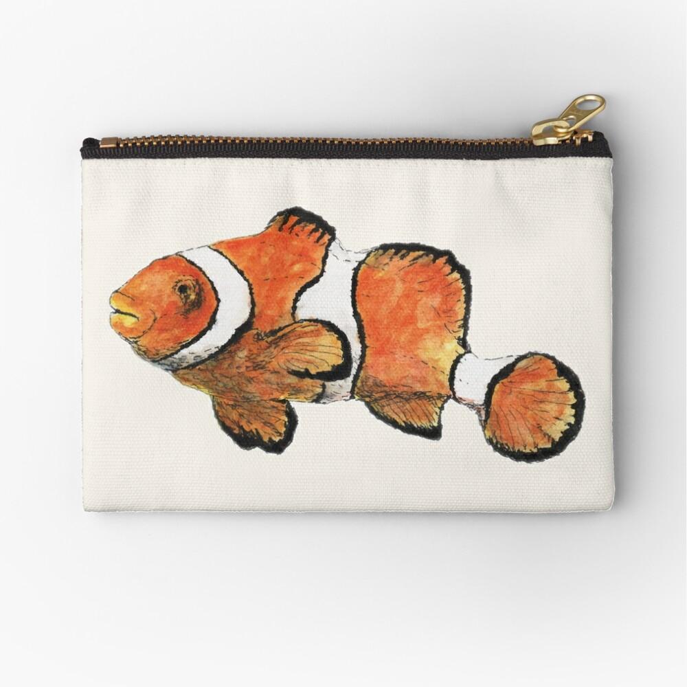 Clownfish Zipper Pouch