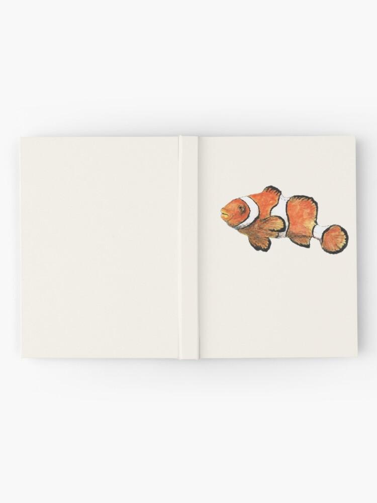 Alternate view of Clownfish Hardcover Journal