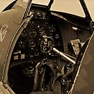 Supermarine Spitfire Cockpit by Andreas Mueller