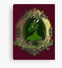 The Lusty Argonian Maid Canvas Print