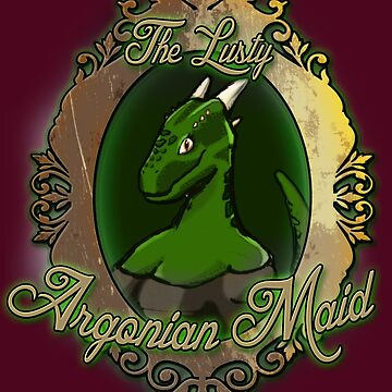The Lusty Argonian Maid by Steampunkd