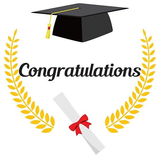 congratulations graduation posters by raionkeiji redbubble