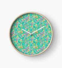 Avocado Print Clock