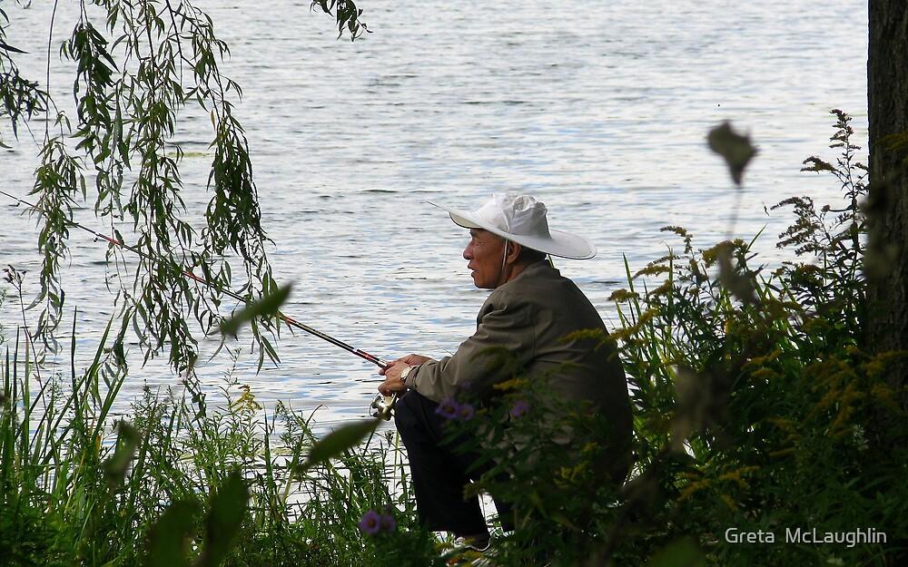 The Fisherman by Greta  McLaughlin