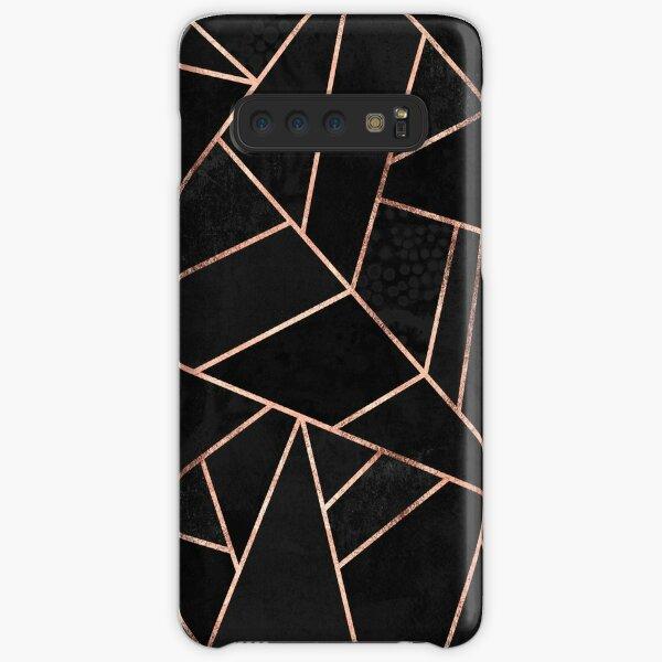 Velvet Black And Rose Gold Samsung Galaxy Snap Case