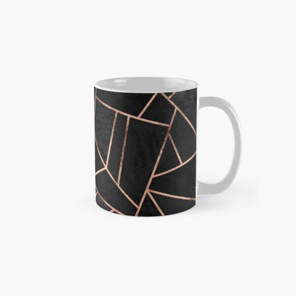 Velvet Black And Rose Gold Classic Mug