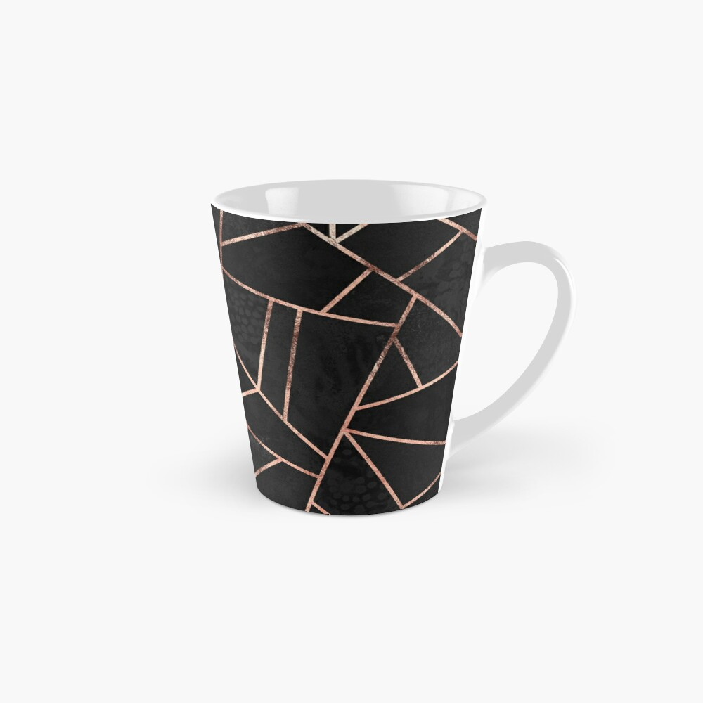 Black And Rose Gold Mug