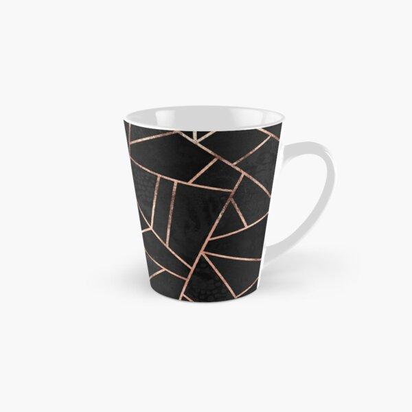 Velvet Black And Rose Gold Tall Mug
