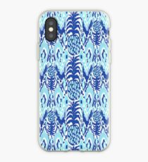 Blue Pineapples iPhone Case