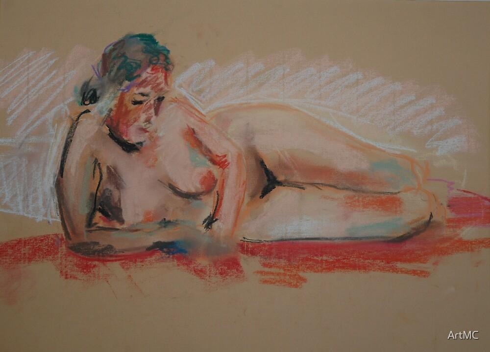 Female figure by ArtMC