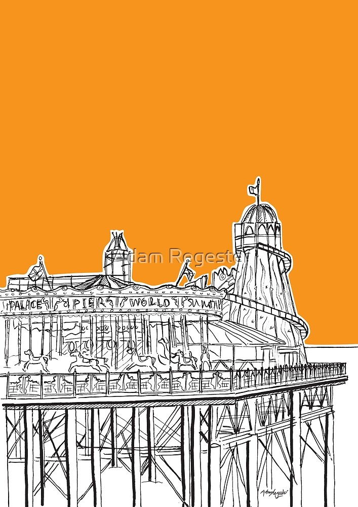 Brighton Palace Pier by Adam Regester
