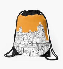 Brighton Palace Pier Drawstring Bag