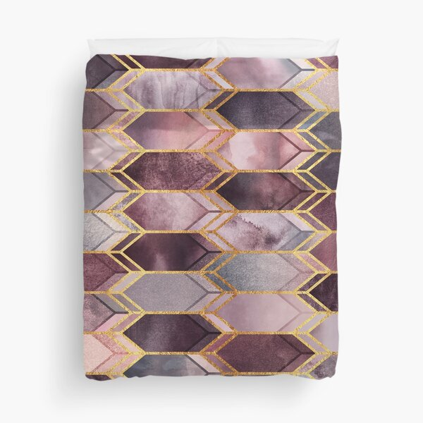 Dreamy Stained Glass 1 Duvet Cover