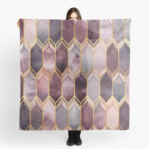 Dreamy Stained Glass 1 Scarf