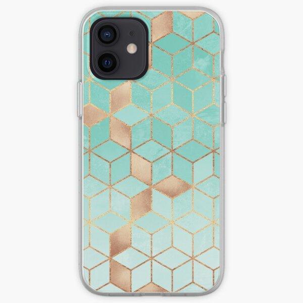Soft Gradient Aquamarine iPhone Soft Case