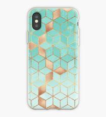 Soft Gradient Aquamarine iPhone Case