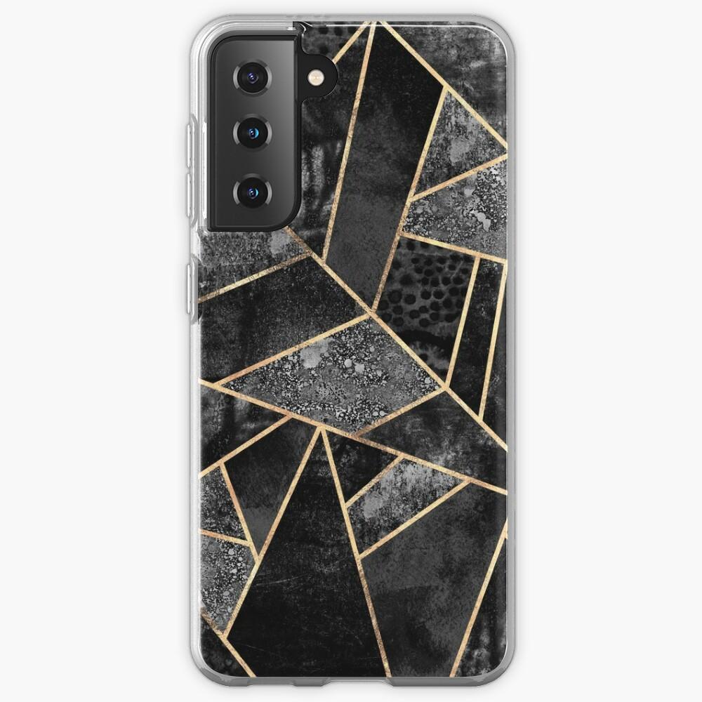Black Stone 2 Case & Skin for Samsung Galaxy