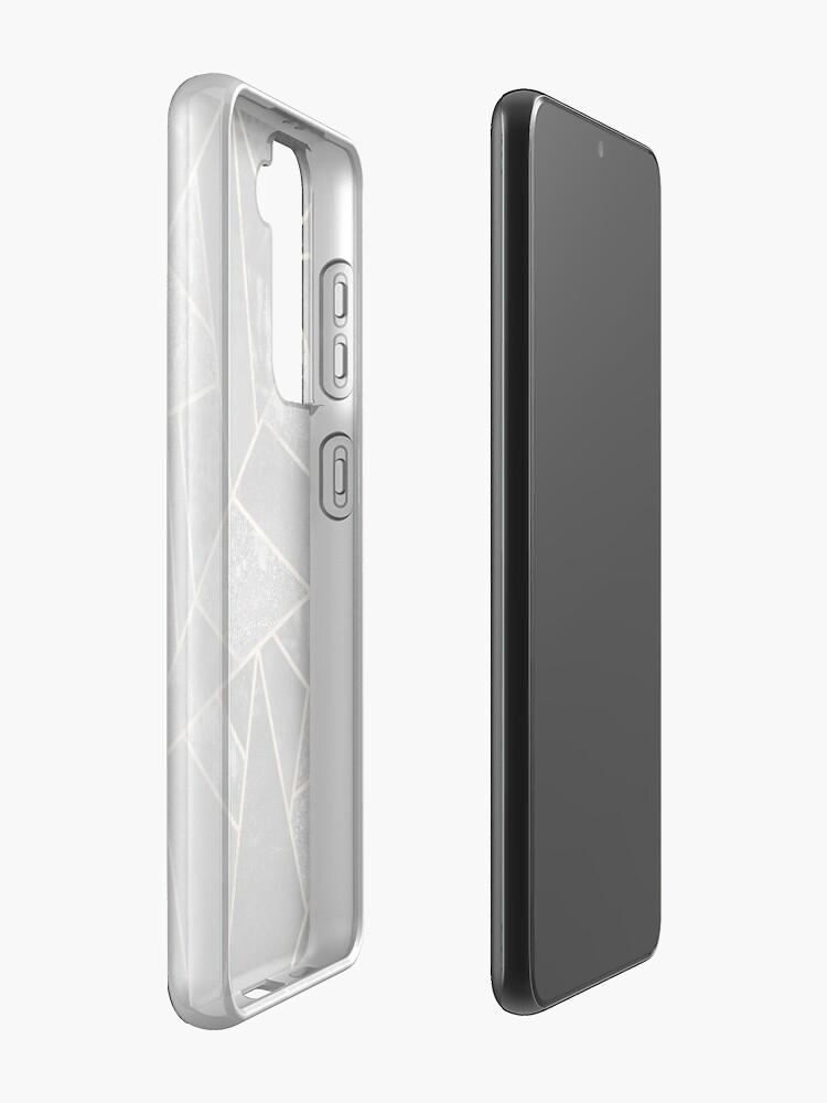 Alternate view of Black Stone 2 Case & Skin for Samsung Galaxy