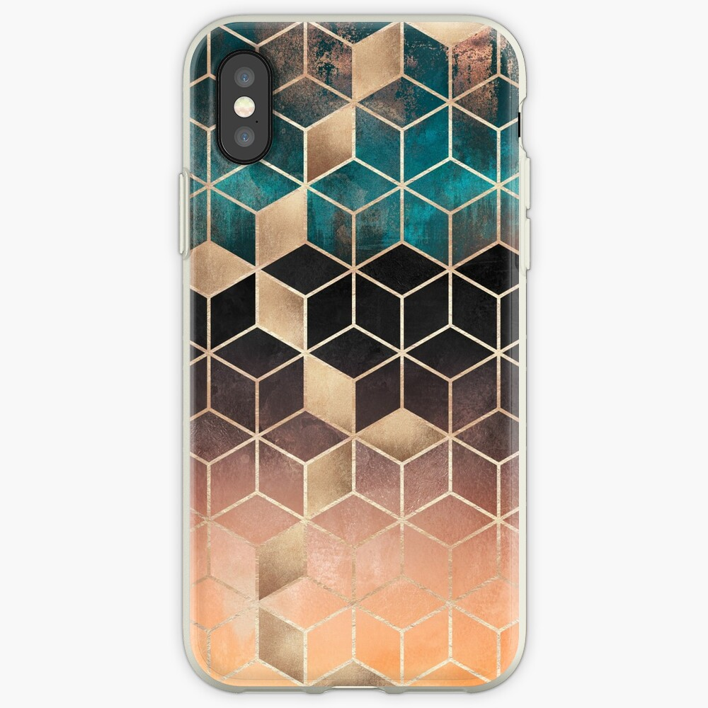 Ombre Dream Cubes iPhone Cases & Covers