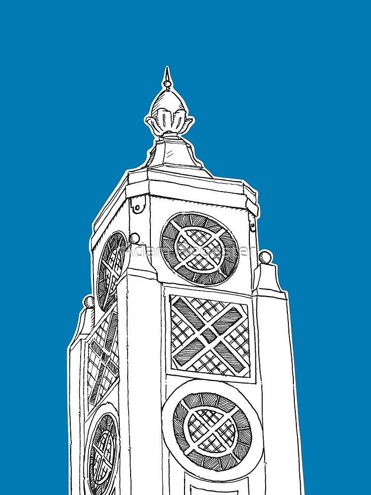 Oxo Tower, London by Adam Regester